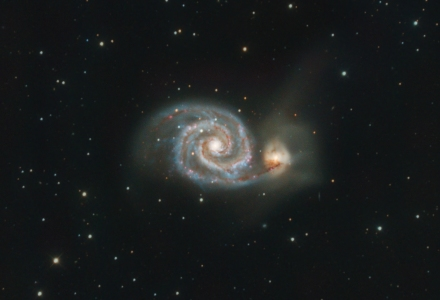 Whirlpool Galaxy - Messier 51