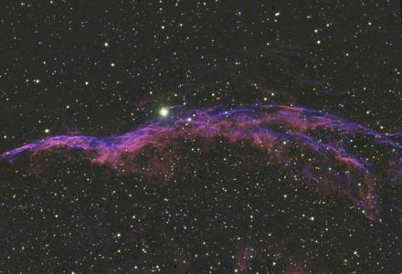 Caldwell 34 - Veil nebula (west)