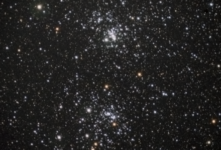 NGC 869 and NGC 884 the Perseus Double Cluster